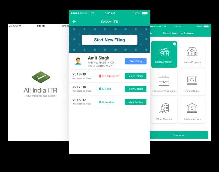 Efiling of Income Tax Return Online, ITR Filing, File ITR