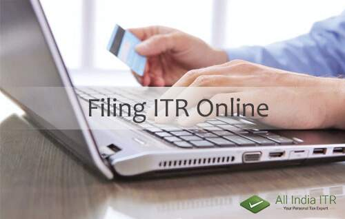 How To e-File Income Tax Returns : Filing ITR Online